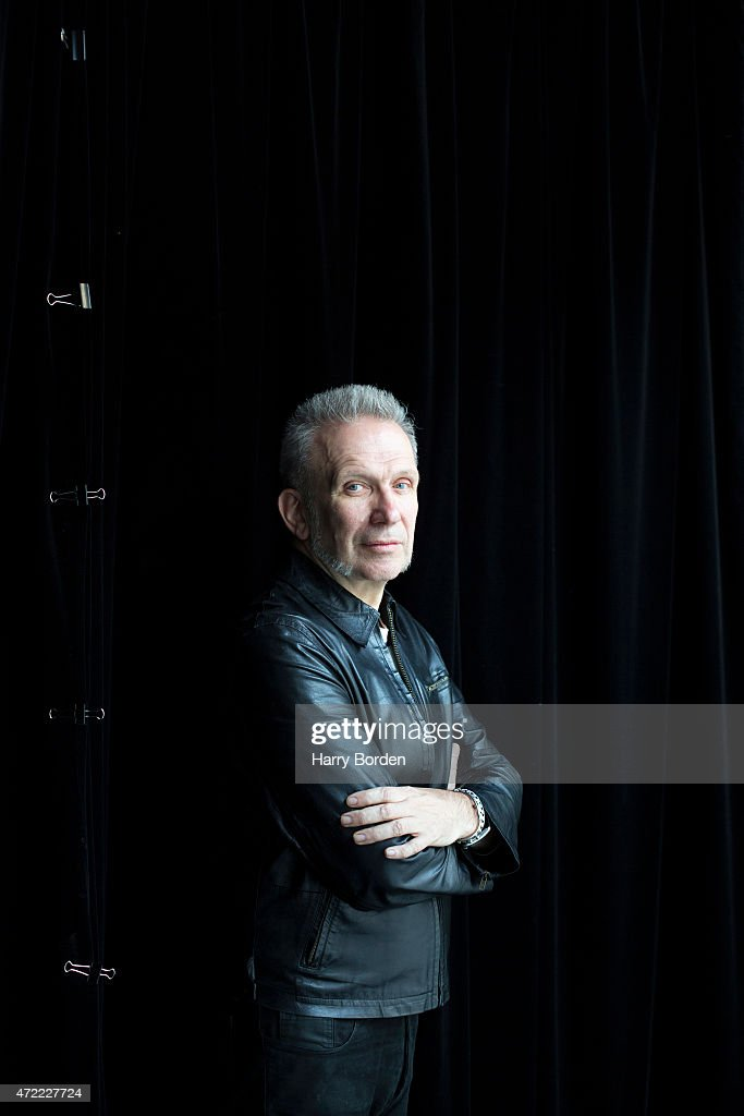 Fashion designer Jean Paul Gaultier is photographed for the Sunday Times magazine on March 12, 2014 in Paris, France.