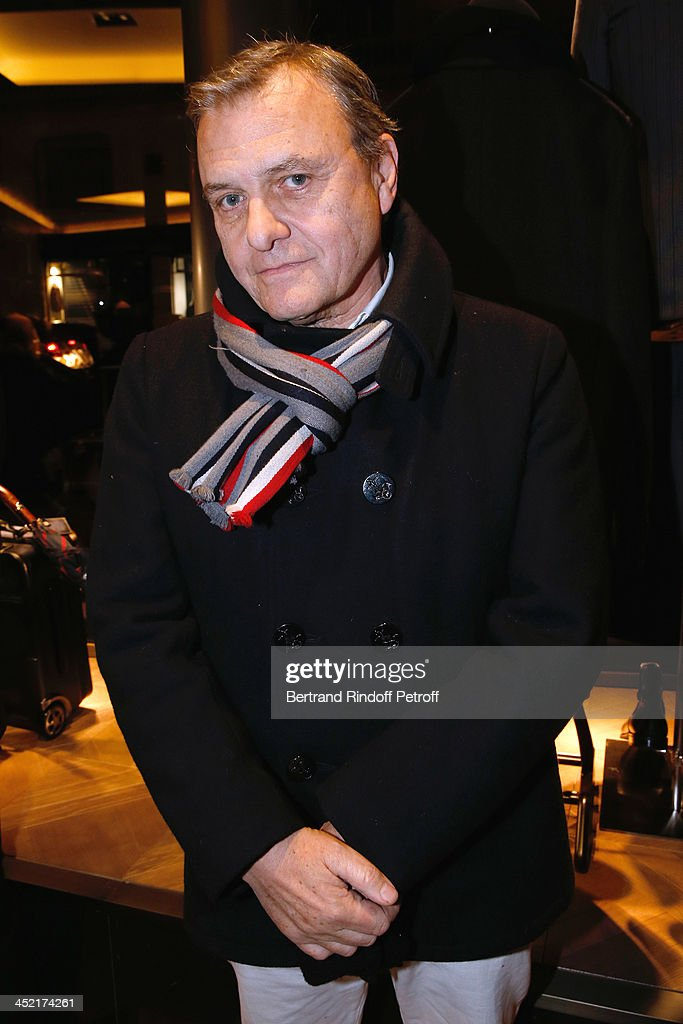 Fashion Designer Jean-Charles de Castelbajac attends Berluti Flagship Store Opening on November 26, 2013 in Paris, France.