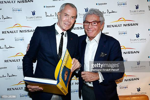 Fashion Designer JeanClaude Jitrois and JeanDaniel Lorieux attend JeanDaniel Lorieux signs his Book 'Sunstroke' at the Art Bookshop of the 'Royal...