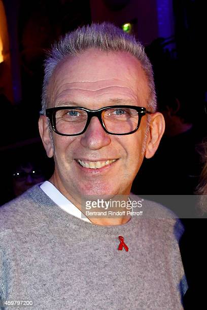 Fashion Designer JeanPaul Gaultier attends Maison Jean Paul Gaultier Hosts 'Le Projet ICCARE Association' Against AIDS at 325 Rue Saint Martin on...