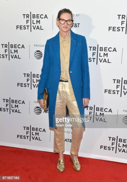 Fashion Designer Jenna Lyons attends the 'My Art' Premiere during 2017 Tribeca Film Festival at Cinepolis Chelsea on April 22 2017 in New York City