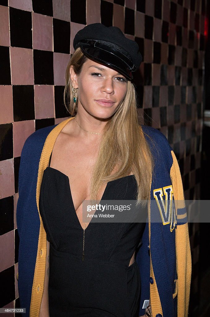 Fashion Designer Jenne Lombardo attends Ashley Smith + RVCA - Collaboration Launch Dinner Hosted By RVCA Founder PM Tenore And Model Ashley Smith at Acme on January 23, 2014 in New York City.