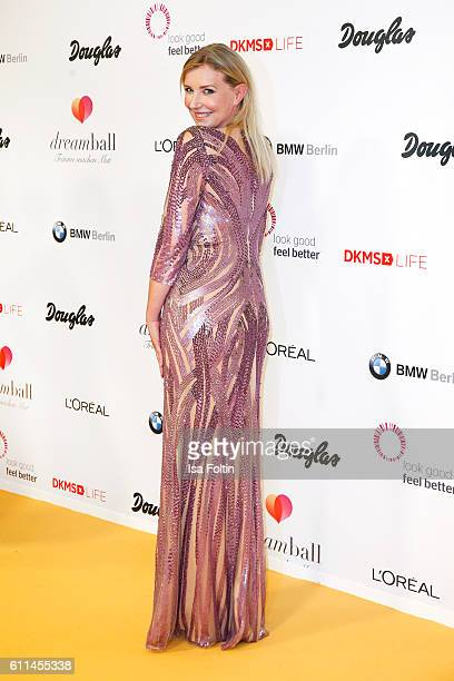 Fashion Designer Jette Joop attends the Dreamball 2016 at Ritz Carlton on September 29 2016 in Berlin Germany