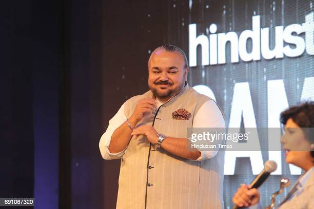 Fashion Designer JJ Valaya during the Hindustan Times Game Changer Awards 2017 at Hotel Oberoi on May 24 2017 in Gurgaon India
