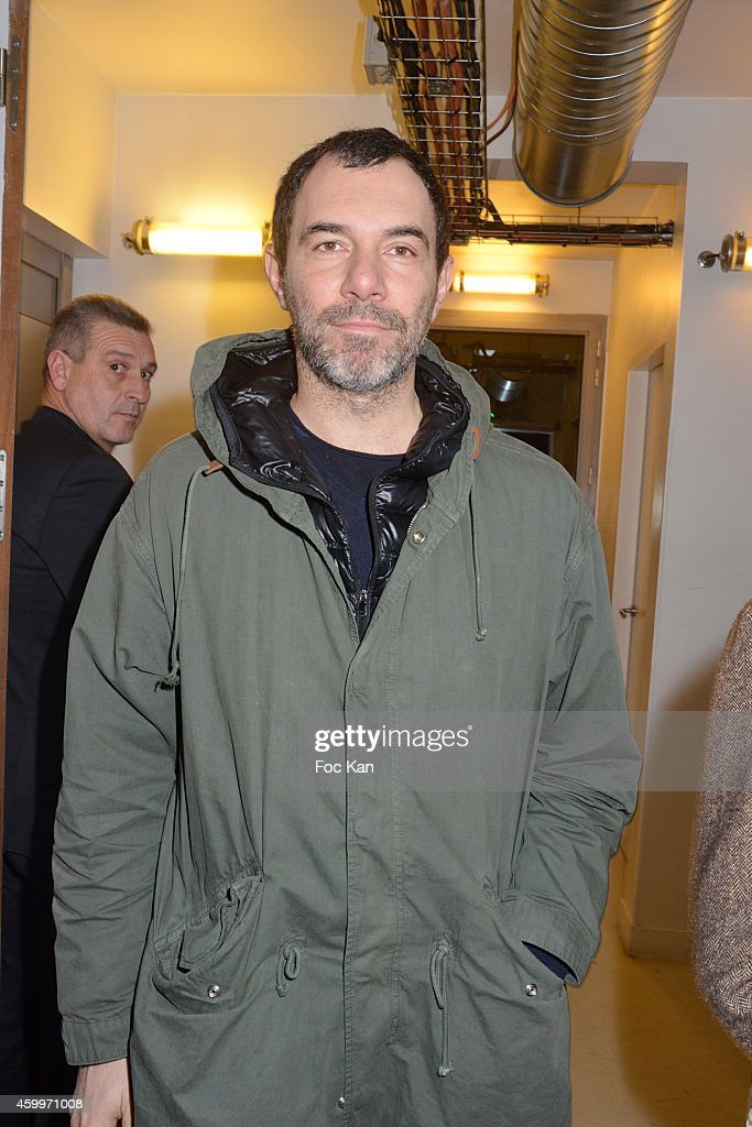 fashion designer jose levy attends the ugrande braderie de la modeu against aids auction