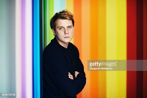 Fashion designer JW Anderson is photographed for the Financial Times on June 20 2016 in London England
