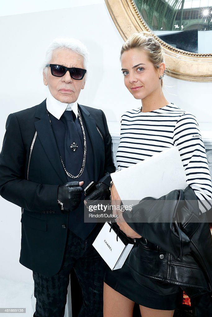 Chanel : Backstage - Paris Fashion Week : Haute Couture Fall/Winter 2014-2015