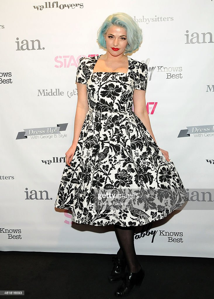 Fashion designer Kenley Collins attends the Stage17 Premiere at Walter Reade Theater on March 31, 2014 in New York City.