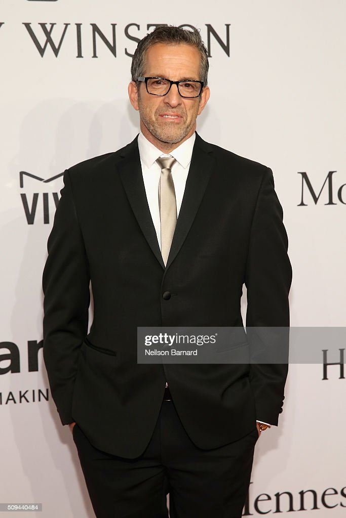 Fashion designer Kenneth Cole attends 2016 amfAR New York Gala at Cipriani Wall Street on February 10, 2016 in New York City.