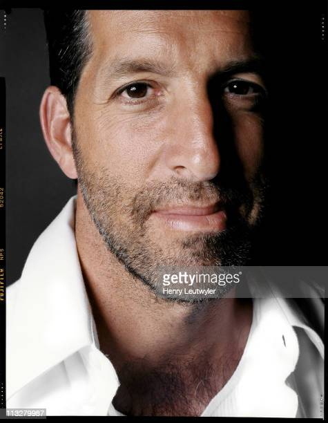 Fashion designer Kenneth Cole is photographed for New York Magazine in New York City in 2000