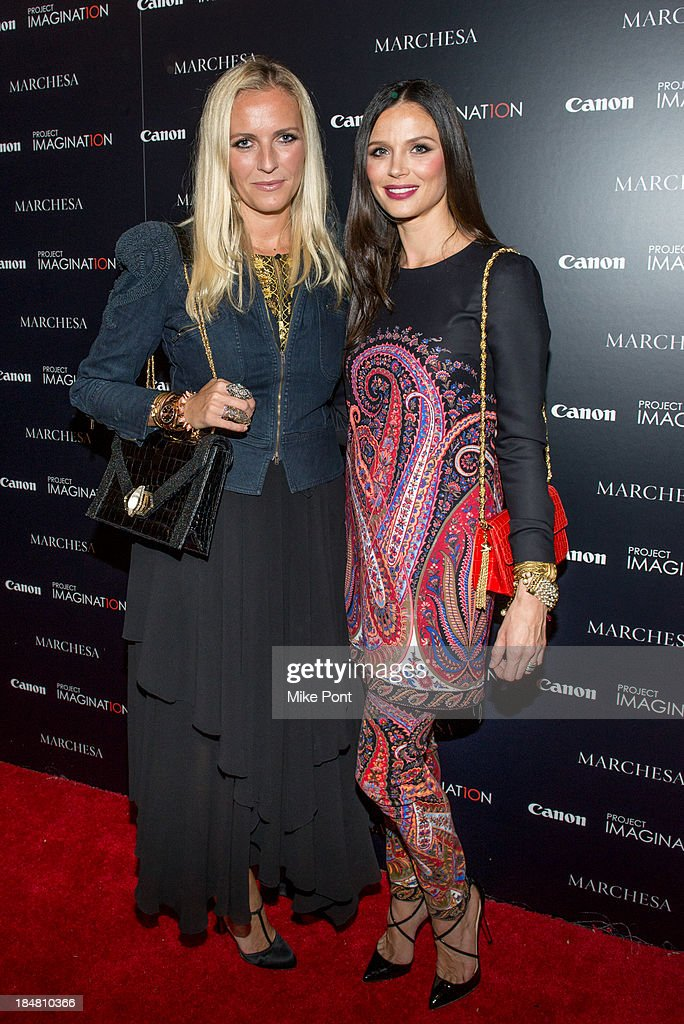Fashion Designer Keren Craig and Designer / Director Georgina Chapman attend the 'A Dream Of Flying' Project Imaginat10n special screening at Crosby Street Hotel on October 16, 2013 in New York City.