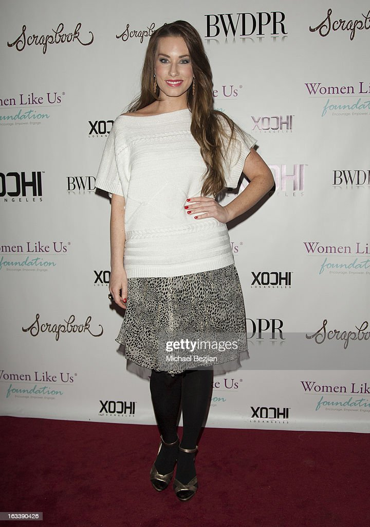 Fashion designer Lauren Elaine attends Pre-LAFW Launch Party In Support Of The Women Like Us Foundation at Lexington Social House on March 8, 2013 in Hollywood, California.