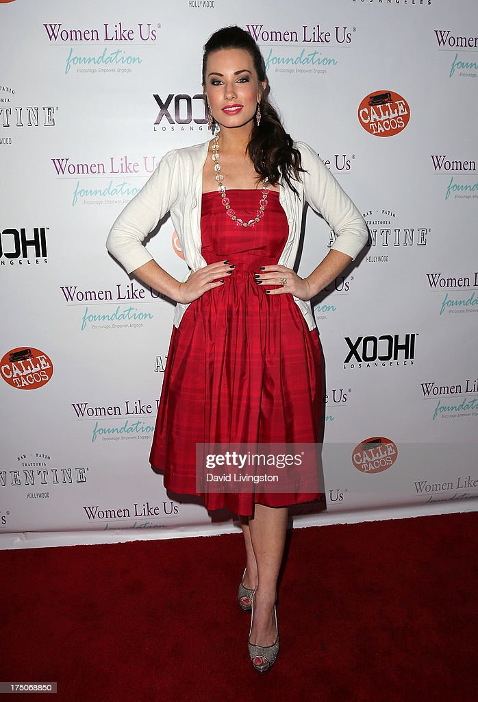 Fashion designer Lauren Elaine attends the One Girl At A Time fundraiser at Aventine Hollywood on July 30, 2013 in Hollywood, California.