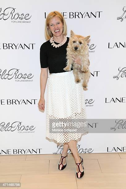 Fashion designer Lela Rose attends Lela Rose Personal Appearance At Lane Bryant Herald Square on April 28 2015 in New York City