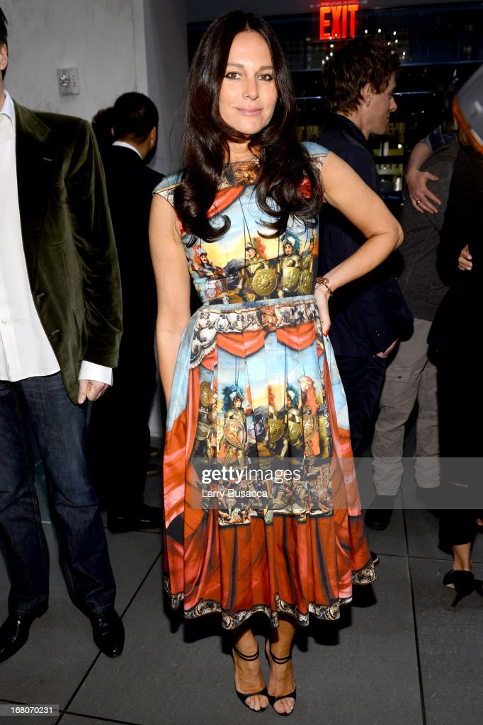 Fashion designer Lisa Marie Fernandez attends Dolce&Gabbana, along with Giovanna Battaglia, celebrate the opening of the 5th Avenue Flagship Boutique on May 4, 2013 in New York City.