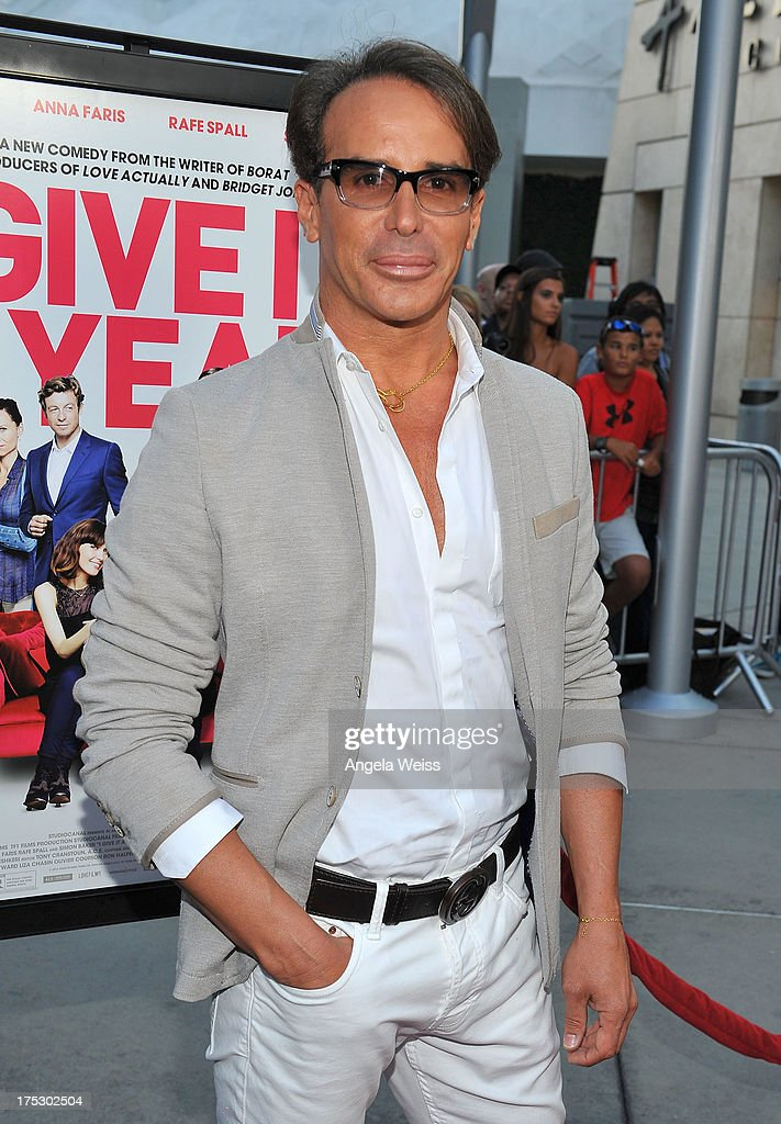 Fashion designer Lloyd Klein arrives at the Screening of Magnolia Pictures' 'I Give It A Year' at ArcLight Hollywood on August 1, 2013 in Hollywood, California.