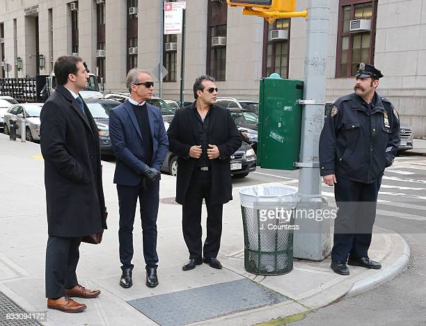 Fashion designer Lloyd Klein departs following an appearance at New York Criminal Court on January 30 2017 in New York City Lloyd Klein appeared in...