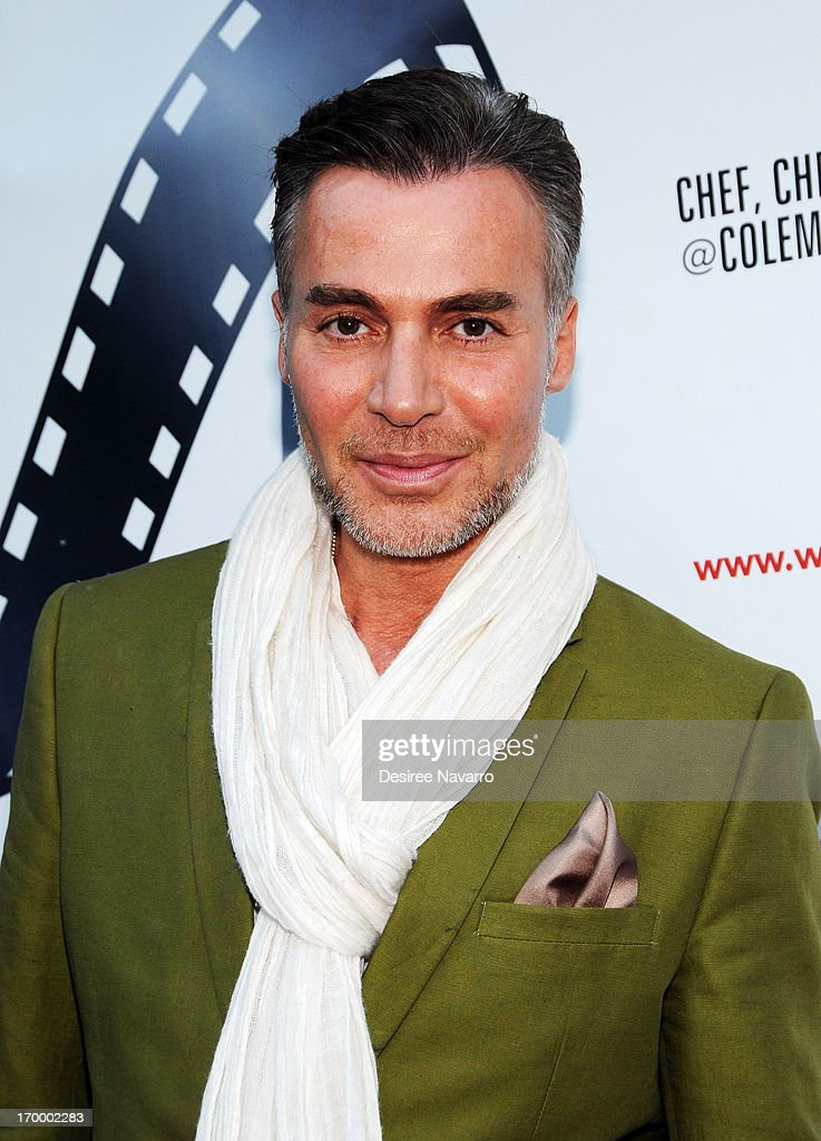 Fashion designer Loris Diran attends the 2013 Women & Fashion FilmFest Launch Party at Bobby's Nightclub on June 5, 2013 in New York City.