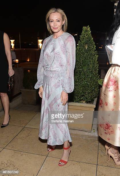 Fashion designer Lubov Azria attends ELLE's Annual Women in Television Celebration on January 13 2015 at Sunset Tower in West Hollywood California...