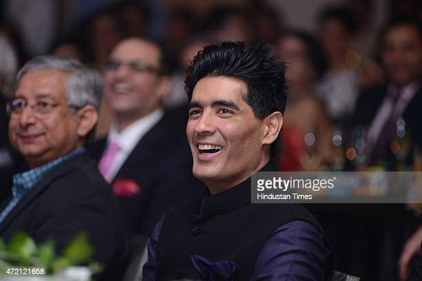Fashion designer Manish Malhotra during the Hindustan Times Delhis Most Stylish 2015 award function on May 2 2015 in New Delhi India