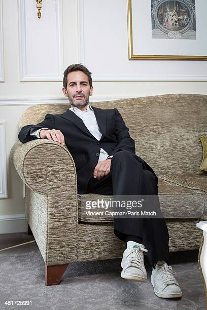 Fashion designer Marc Jacobs is photographed for Paris Match on March 20 2014 in Paris France