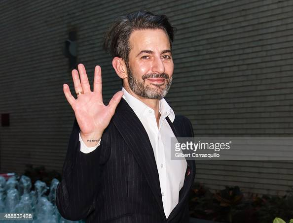Fashion designer Marc Jacobs is seen at Marc Jacobs fashion show during Spring 2016 New York Fashion Week on September 17 2015 in New York City