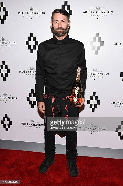 Fashion designer Marcelo Burlon attends the Moet Nectar Imperial Rose x Marcelo Burlon Launch Event on June 3 2015 in New York City