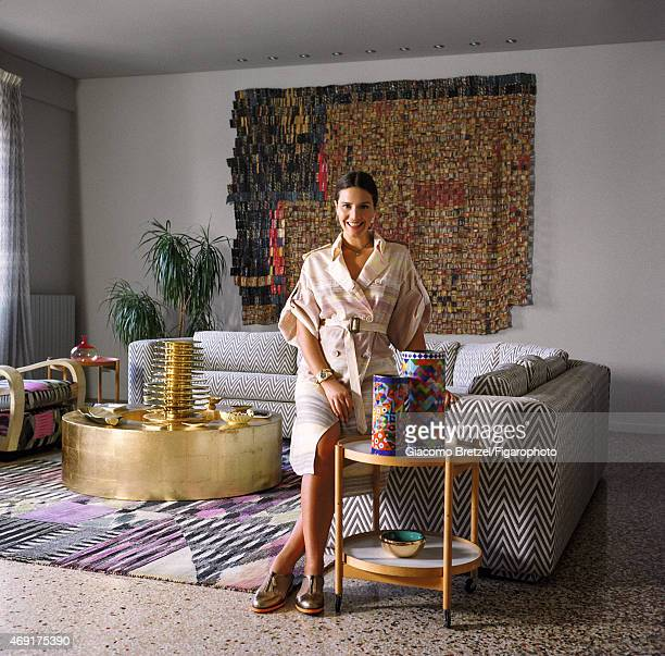 Fashion designer Margherita Maccapani Missoni is photographed for Madame Figaro on January 7 2015 in Rome Italy CREDIT MUST READ Giacomo...