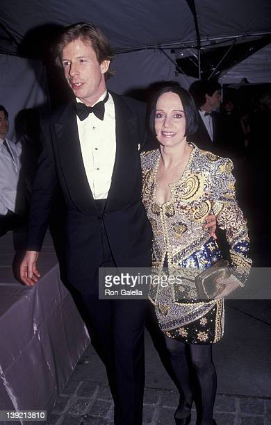 Fashion Designer Mary McFadden attends 100th Anniversary Party for Vogue Magazine on April 2 1992 at the New York Public Library in New York City