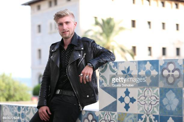 Fashion designer Max Macchina during the Zhero hotel and 'Bahia Mediterraneo' restaurant opening on June 3 2017 in Palma de Mallorca Spain