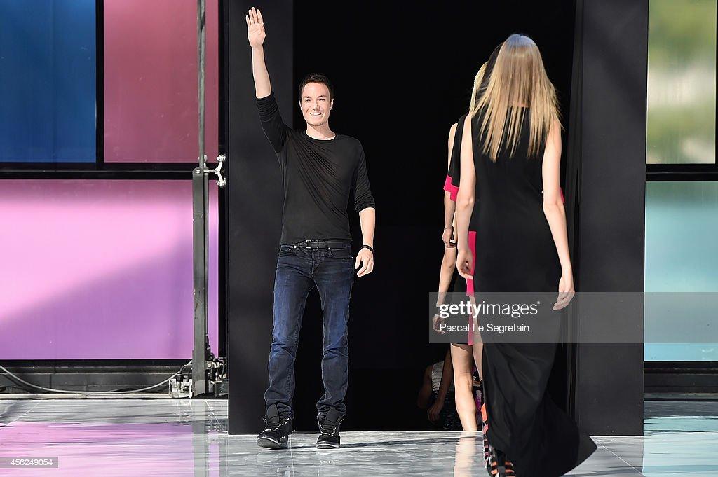 Maxime Simoens : Runway - Paris Fashion Week Womenswear Spring/Summer 2015