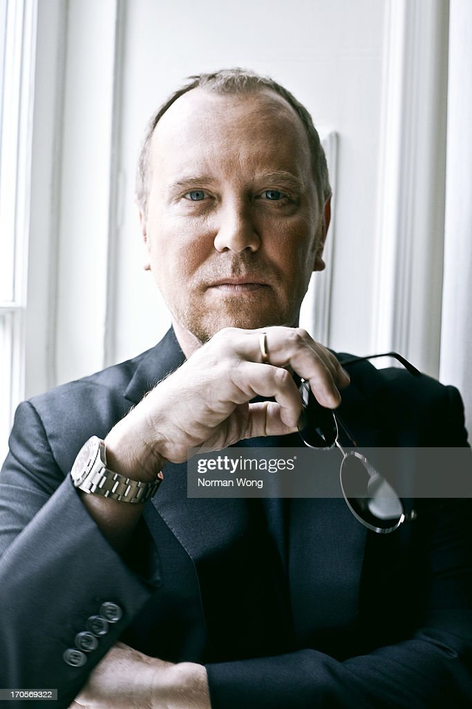 Fashion designer <a gi-track='captionPersonalityLinkClicked' href=/galleries/search?phrase=Michael+Kors+-+Fashion+Designer&family=editorial&specificpeople=4289231 ng-click='$event.stopPropagation()'>Michael Kors</a> is photographed for NUVO on March 31, 2010 in Toronto, Ontario.