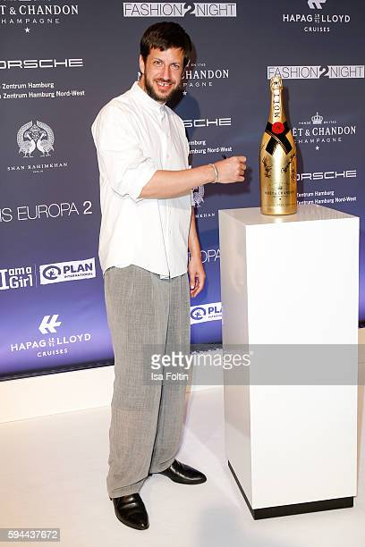 Fashion designer Michael Sontag attends the Fashion2Night event at EUROPA 2 on August 23 2016 in Hamburg Germany