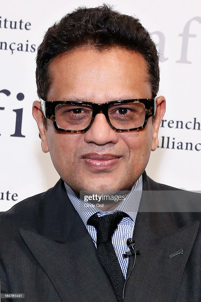 Fashion designer Naeem Khan attends Fashion Talks 2013 Presents: Naeem Khan at Florence Gould Hall on March 27, 2013 in New York City.