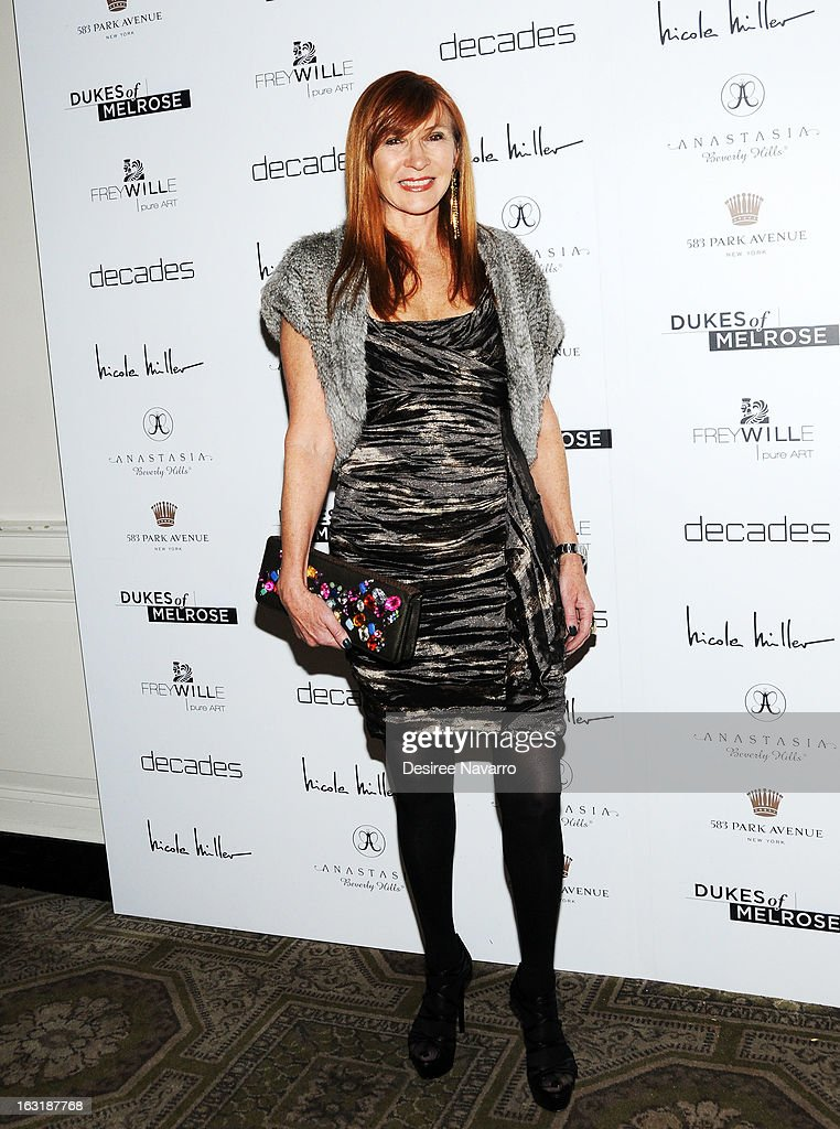 Fashion designer Nicole Miller attends the 'Dukes Of Melrose' Premiere at 583 Park Avenue on March 5, 2013 in New York City.