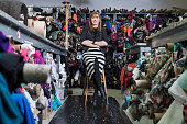 Fashion designer Nicole Miller is photographed for Wall Street Journal on March 8 2015 in New York City