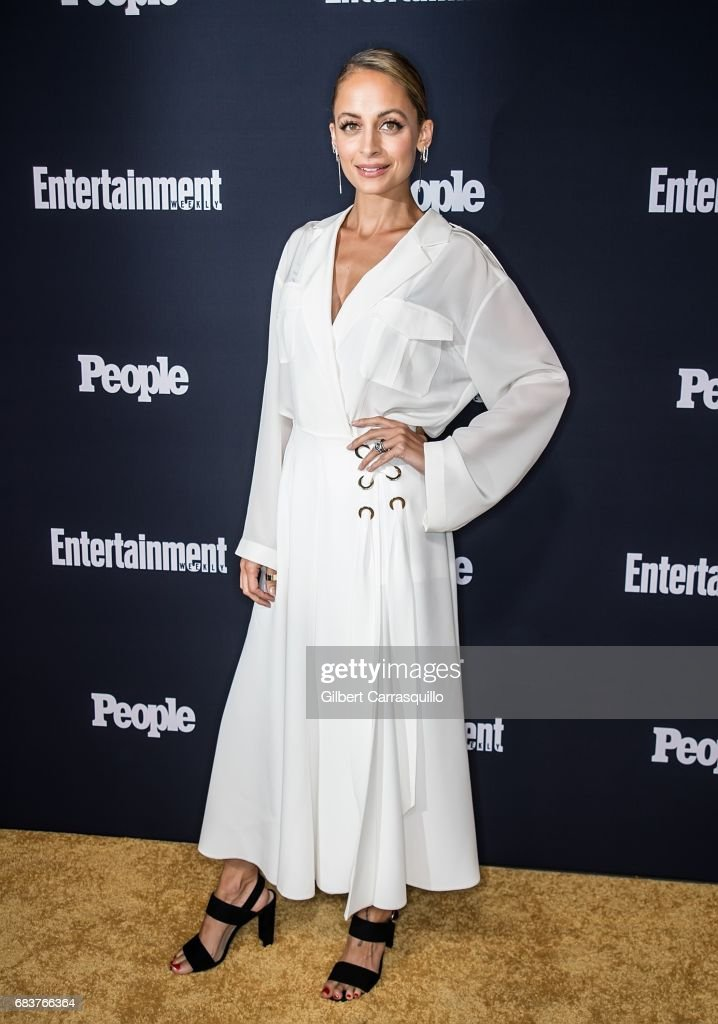 Fashion designer Nicole Richie attends Entertainment Weekly & People New York Upfronts at 849 6th Ave on May 15, 2017 in New York City.