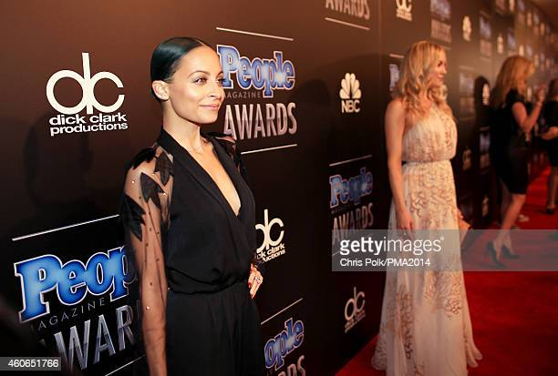 Fashion designer Nicole Richie attends the PEOPLE Magazine Awards at The Beverly Hilton Hotel on December 18 2014 in Beverly Hills California