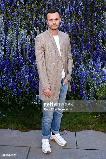 Fashion Designer of Dior Homme Kris Van Assche attends the Christian Dior show as part of the Paris Fashion Week Womenswear Spring/Summer 2016 Held...