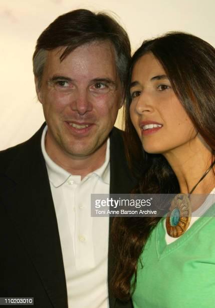 Fashion designer Olivier Lapidus and wife Yara Lapidus