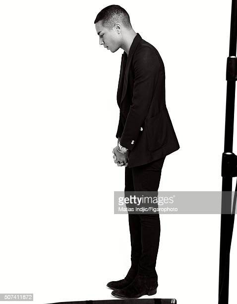 Fashion designer Olivier Rousteing is photographed for Madame Figaro on October 1 2015 in Paris France CREDIT MUST READ Matias...