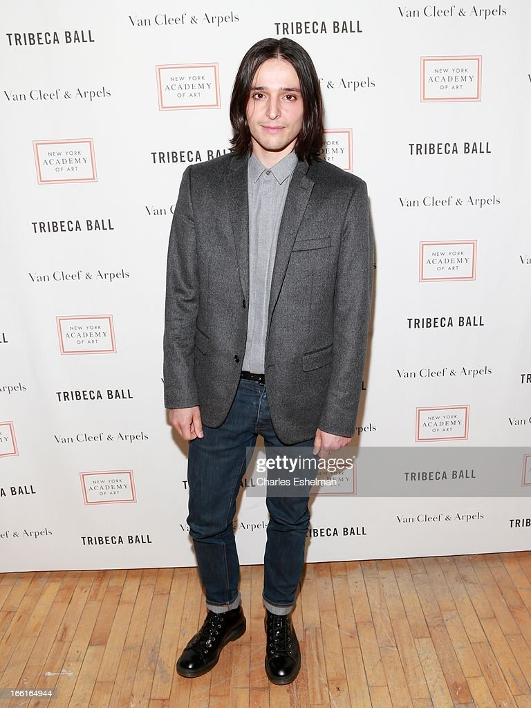 Fashion designer Olivier Theyskens attends 2013 Tribeca Ball at New York Academy of Art on April 8, 2013 in New York City.
