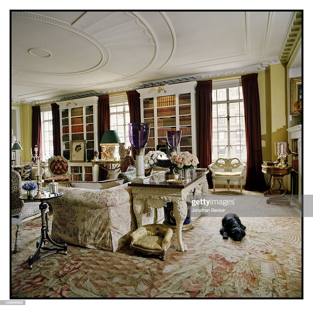 Oscar De La Renta Home oscar de la renta and eliza bolen, vanity fair - spain, october 1