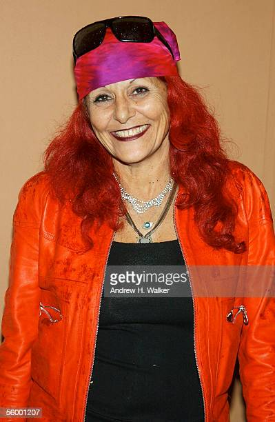 Fashion designer Patricia Field attends the 250th Anniversary Celebration of luxury watch brand Vacheron Constantin hosted by Melania Trump on...