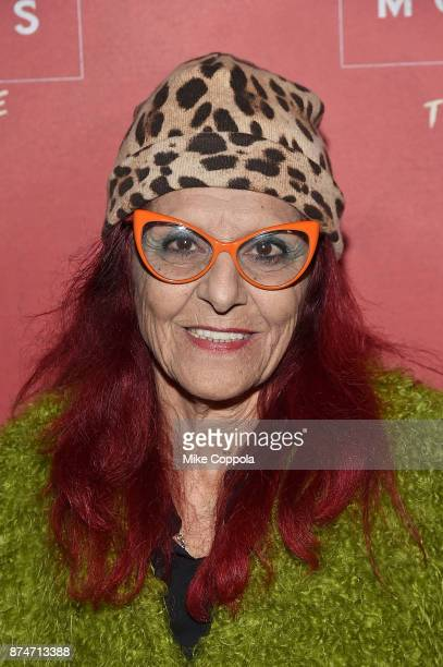 Fashion designer Patricia Fields attends 'Latin History For Morons' Broadway Opening Night at Studio 54 on November 15 2017 in New York City