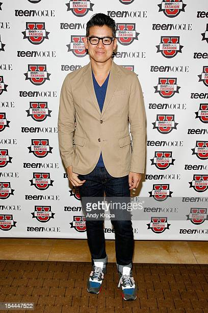Fashion designer Peter Som attends the 7th Annual Teen Vogue Fashion University at the Conde Nast building on October 20 2012 in New York City