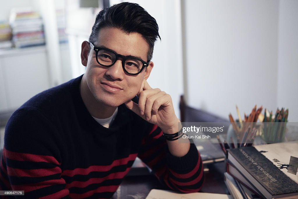 Fashion designer Peter Som is photographed for Jessica Magazine on February 17, 2014 in New York City.