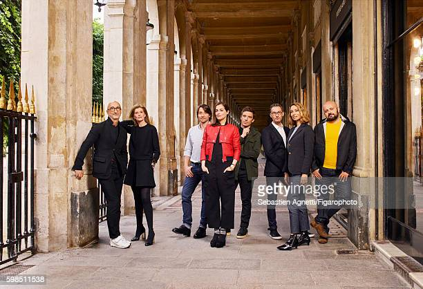 Fashion designer Pierre Hardy beauty editor Laurence Hovart visual artist Damien Blottière actress Amira Casar artistic director of Paco Rabanne...