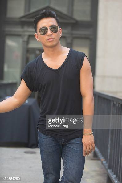 Fashion Designer Prabal Gurung after his show on Day 3 of New York Fashion Week Spring/Summer 2015 on September 6 2014 in New York City