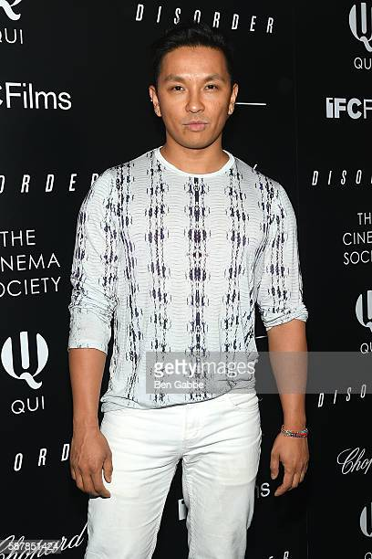 Fashion designer Prabal Gurung attends a screening of IFC Films' 'Disorder' hosted by The Cinema Society Chopard with Line 39 and Qui at Landmark...